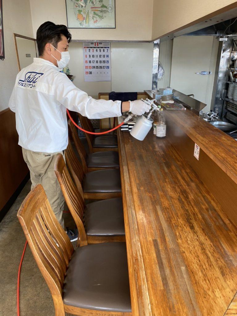 色彩工房光触媒除菌施工